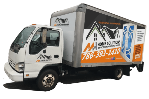 MH Home Solutions Truck